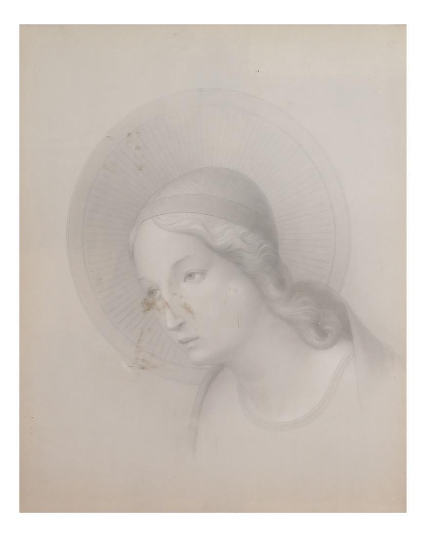 Pair of Angelic Portraits - 6