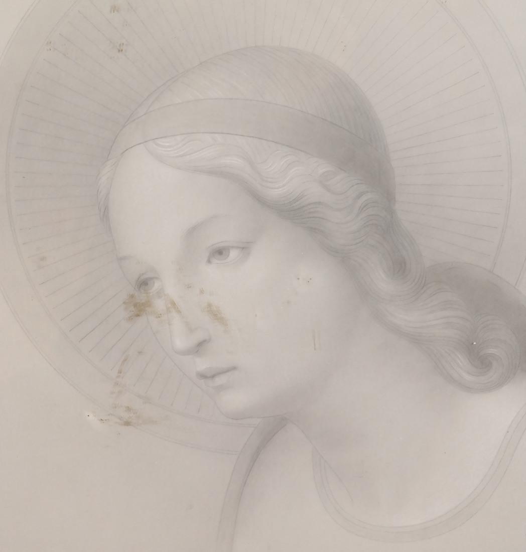 Pair of Angelic Portraits - 7
