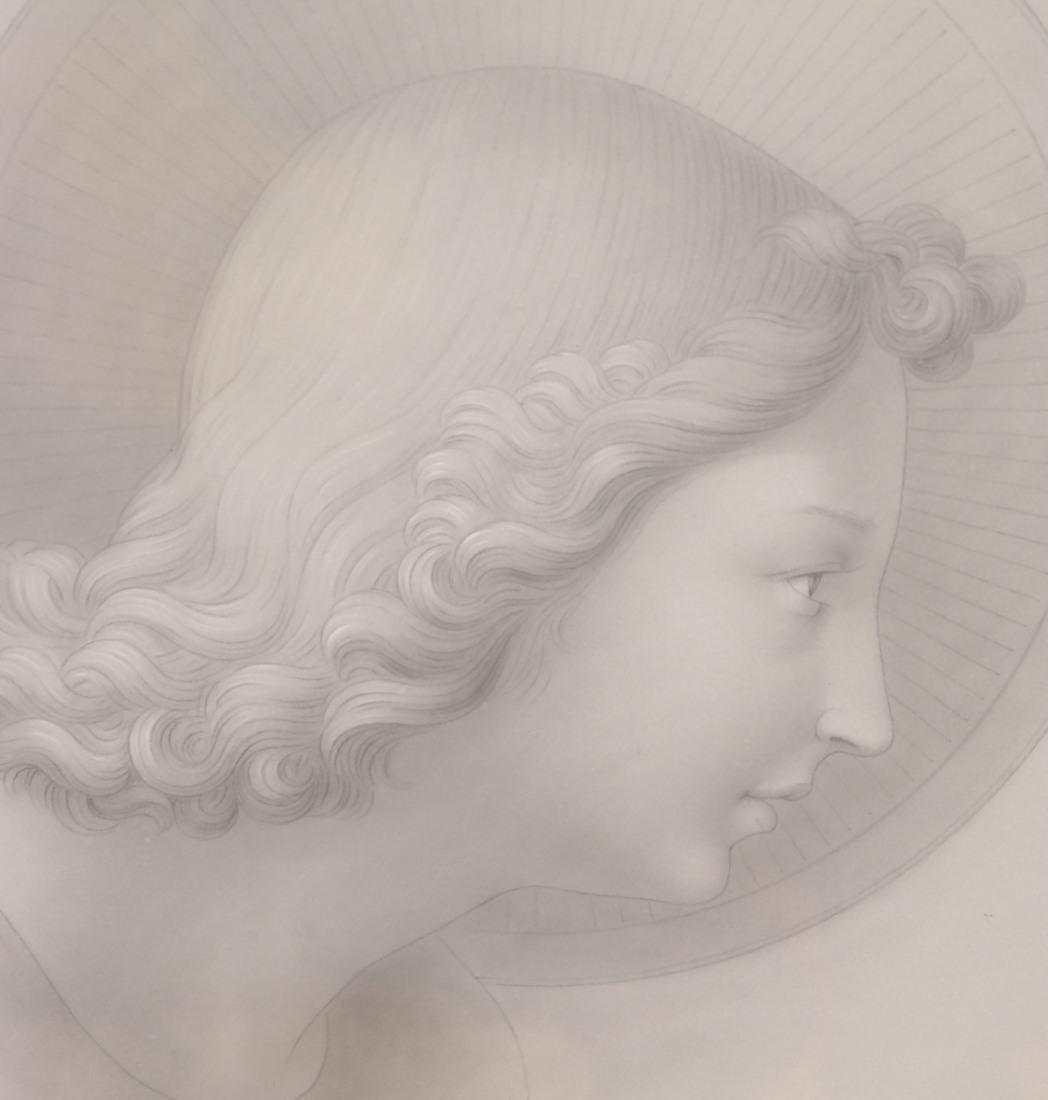 Pair of Angelic Portraits - 8