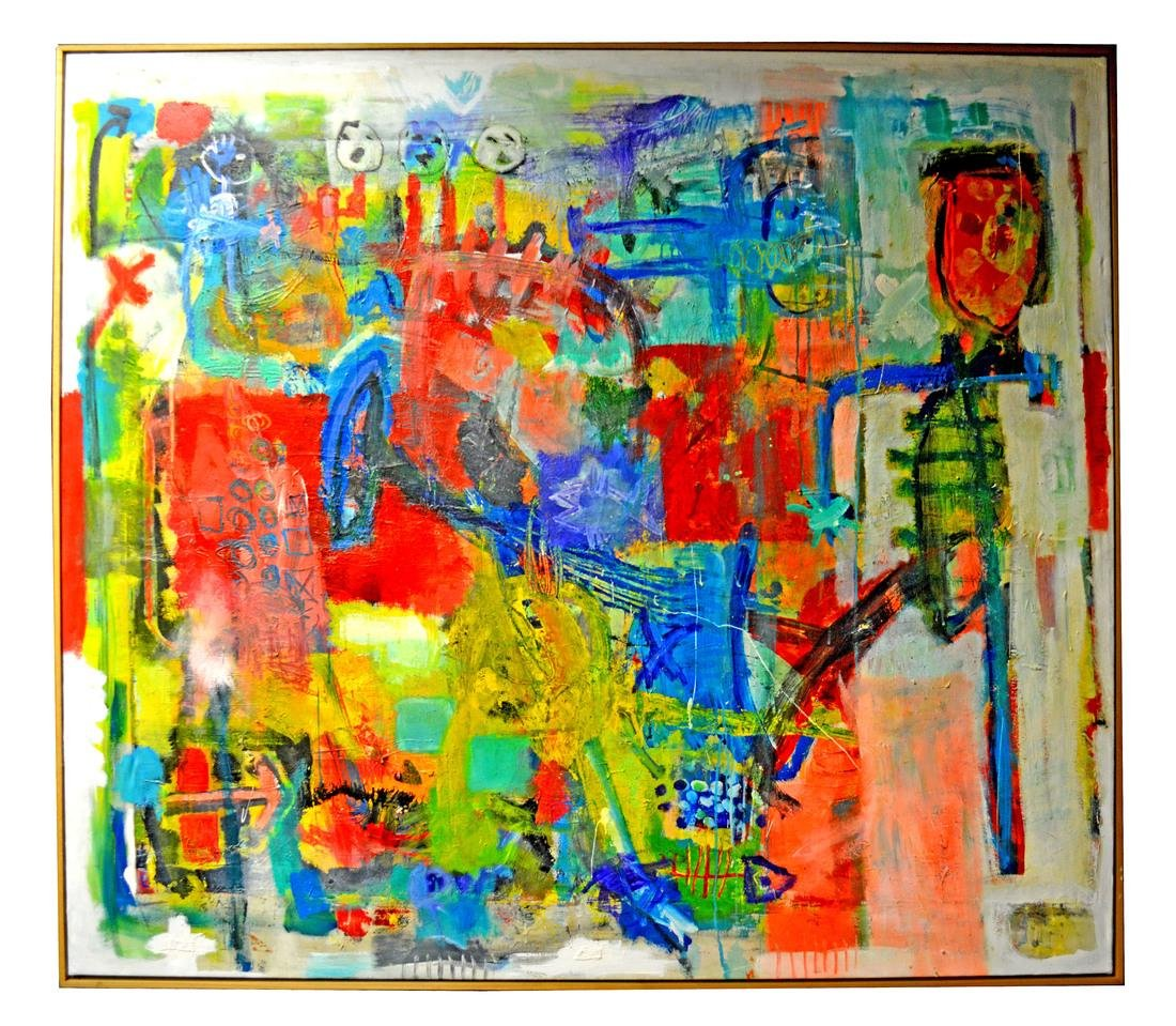 Dieter Wolthoff, Figural Abstract