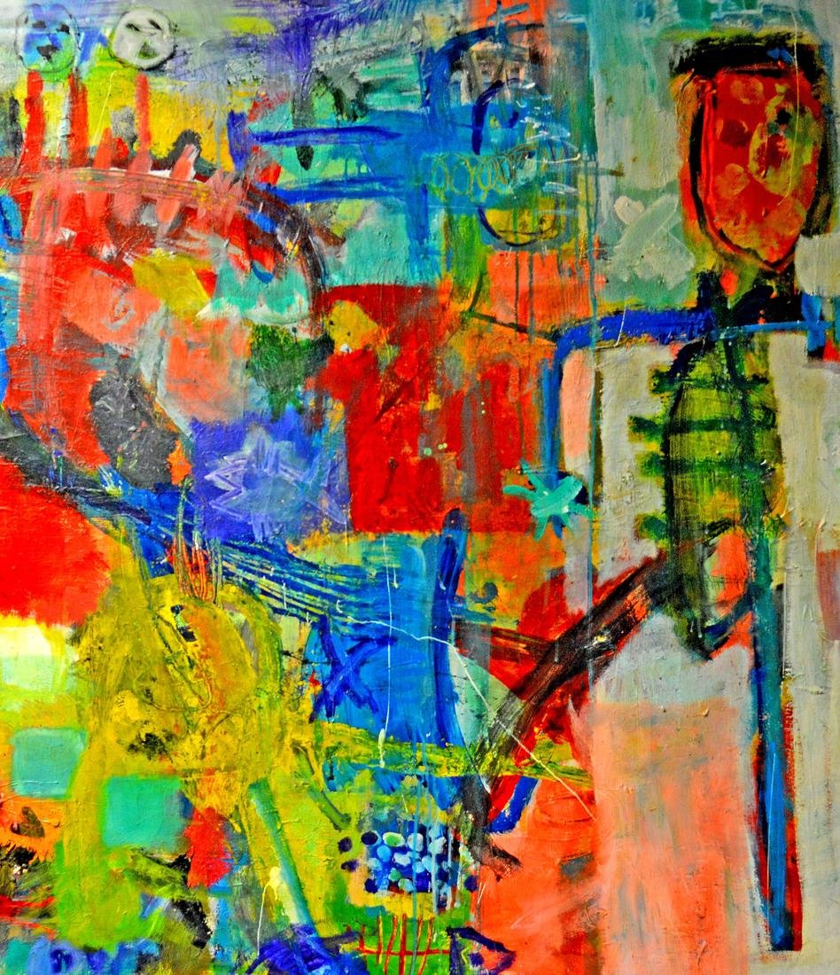 Dieter Wolthoff, Figural Abstract - 2