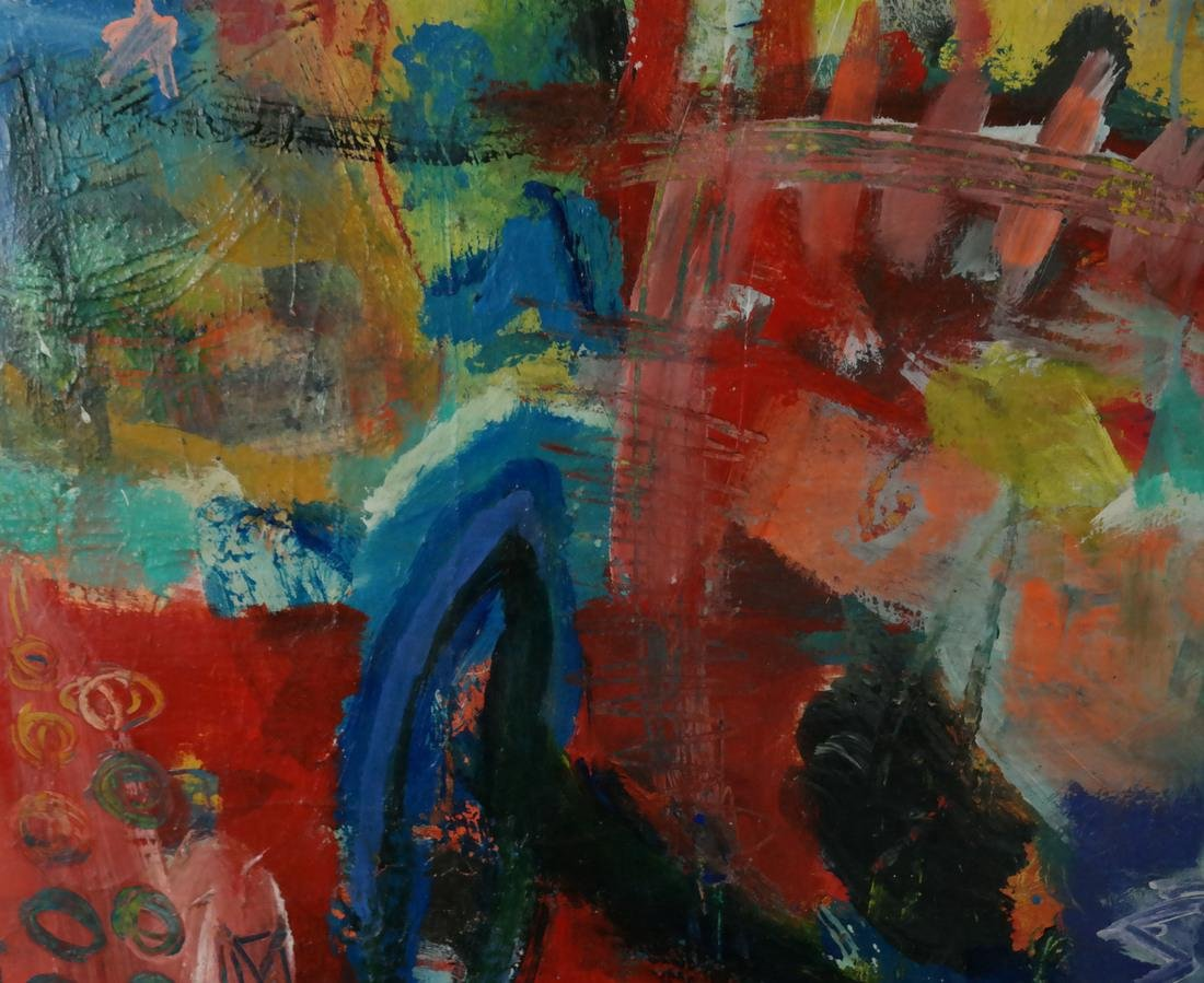 Dieter Wolthoff, Figural Abstract - 4