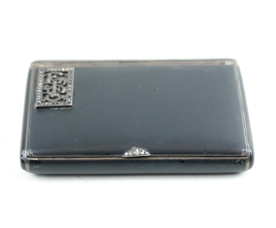 French Jeweled Compact - 4
