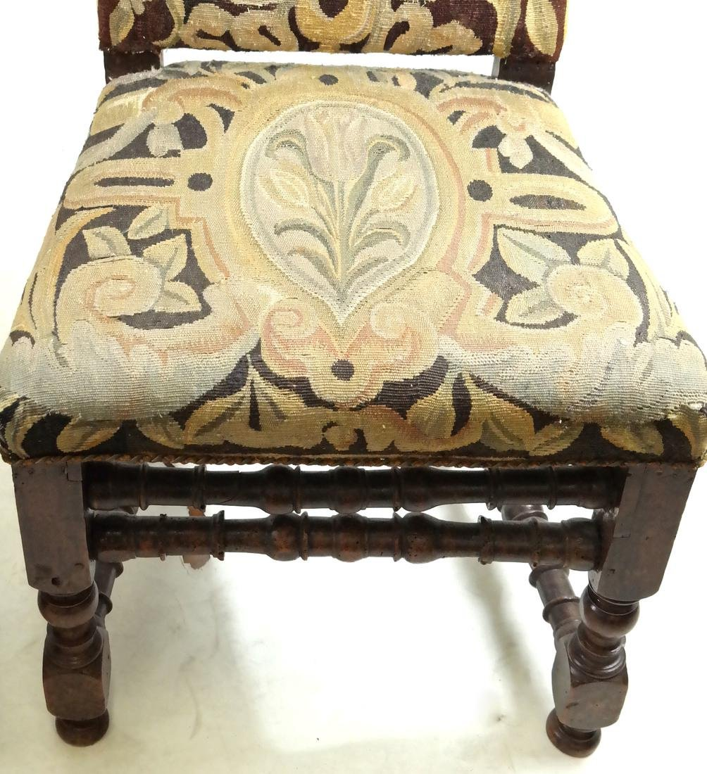 Pair of 18th C. Tapestry Side Chairs - 3