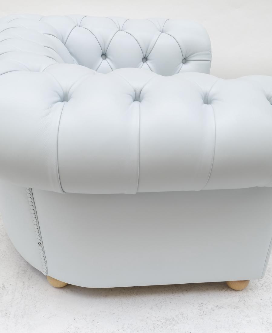 Pair of Poltrona Frau Club Chairs - 6