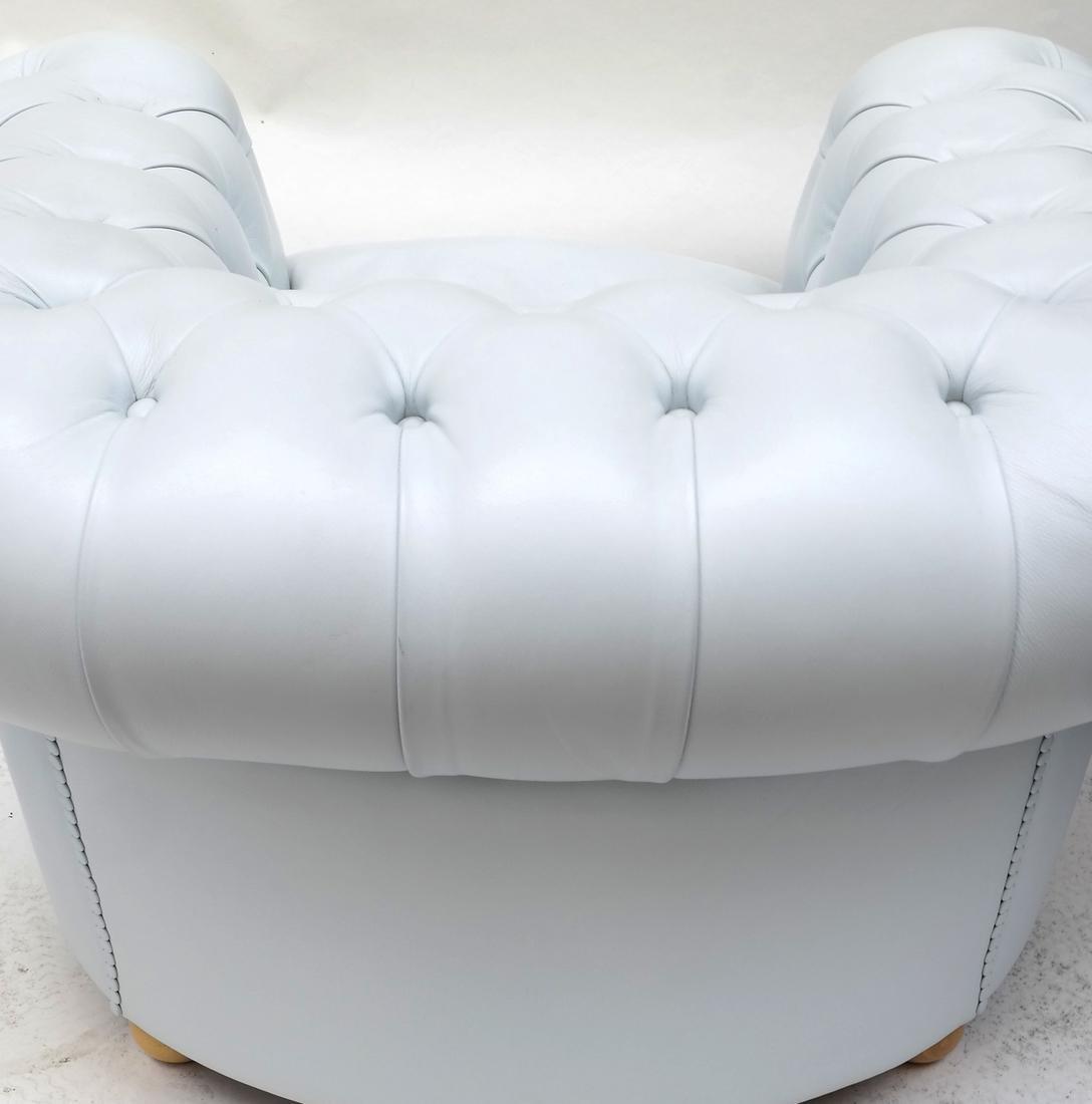 Pair of Poltrona Frau Club Chairs - 7