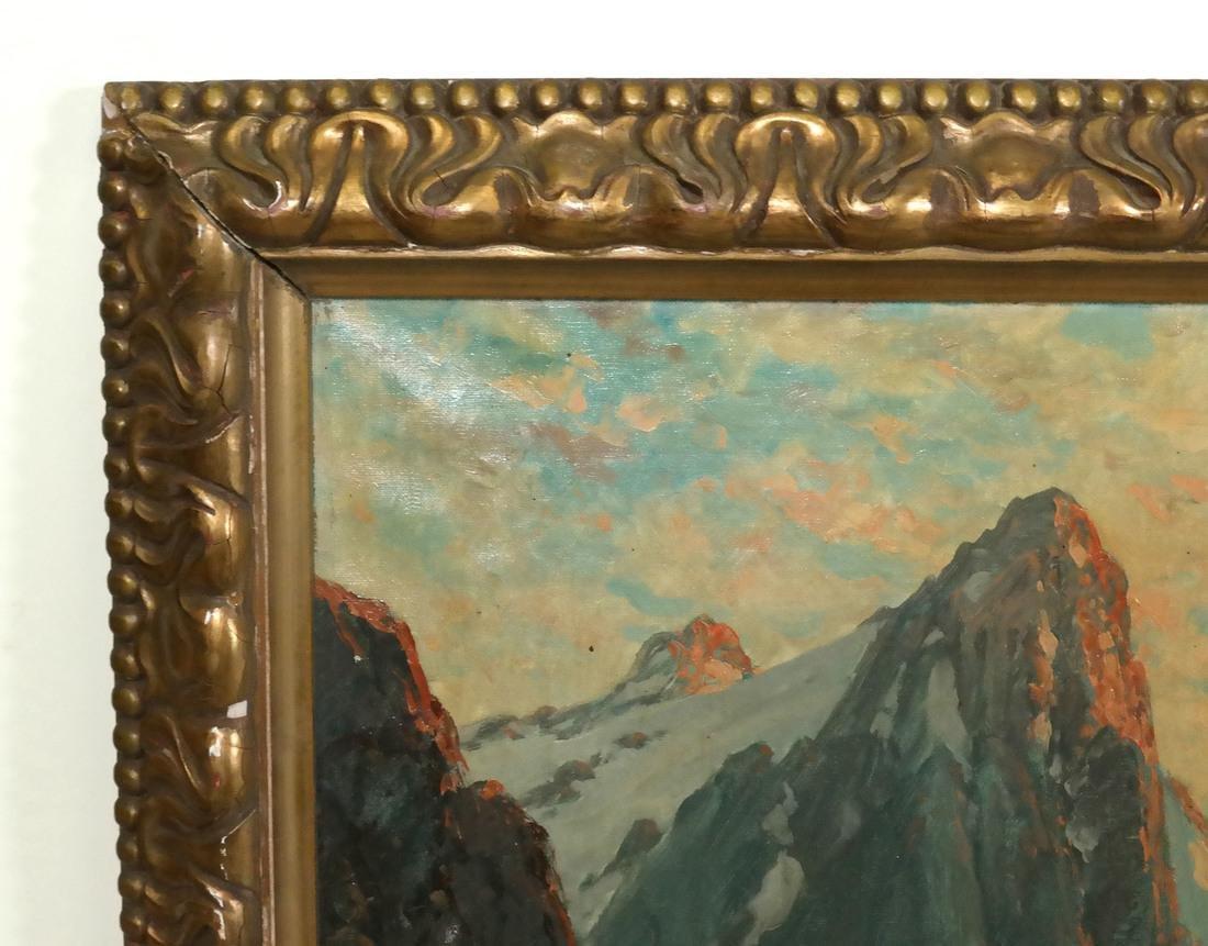 C.M. Schmitz, Mountain Village Scene - 4