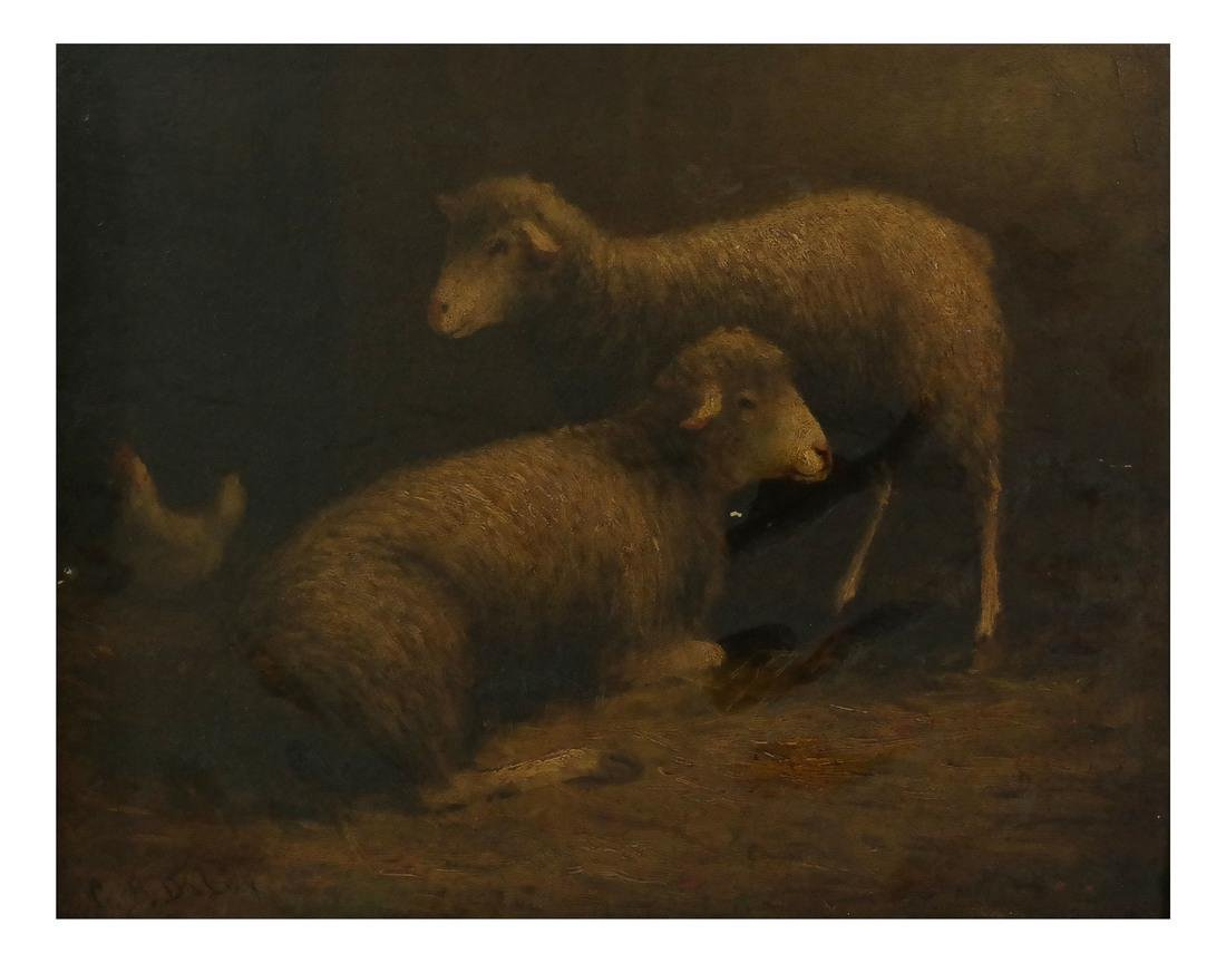 C.B. Daley, Farmyard Scene