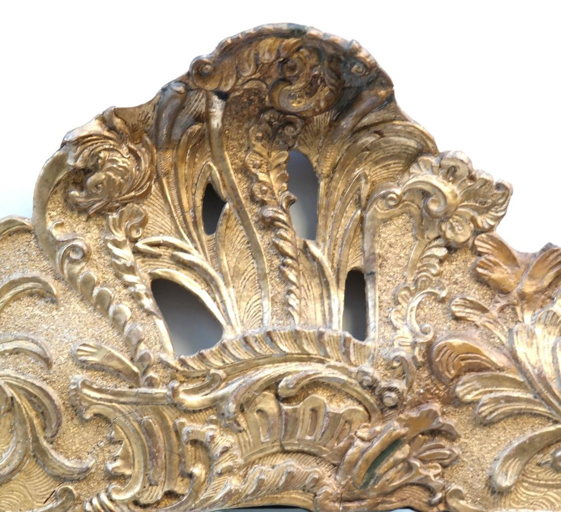 19th C. Composition Gilt Pier Mirror - 3