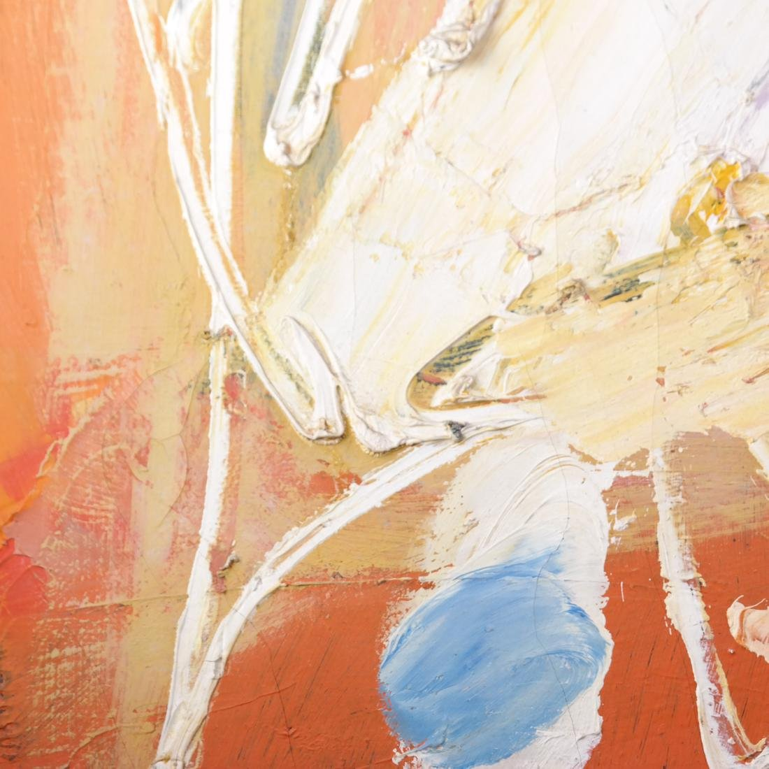 Anton Rooskens, Abstract, Oil on Canvas - 5