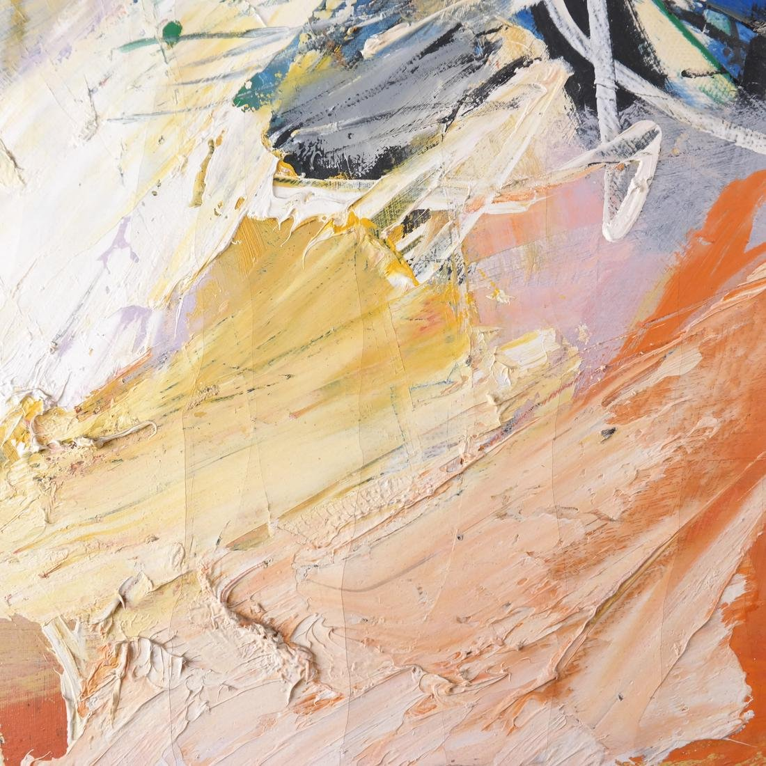 Anton Rooskens, Abstract, Oil on Canvas - 8