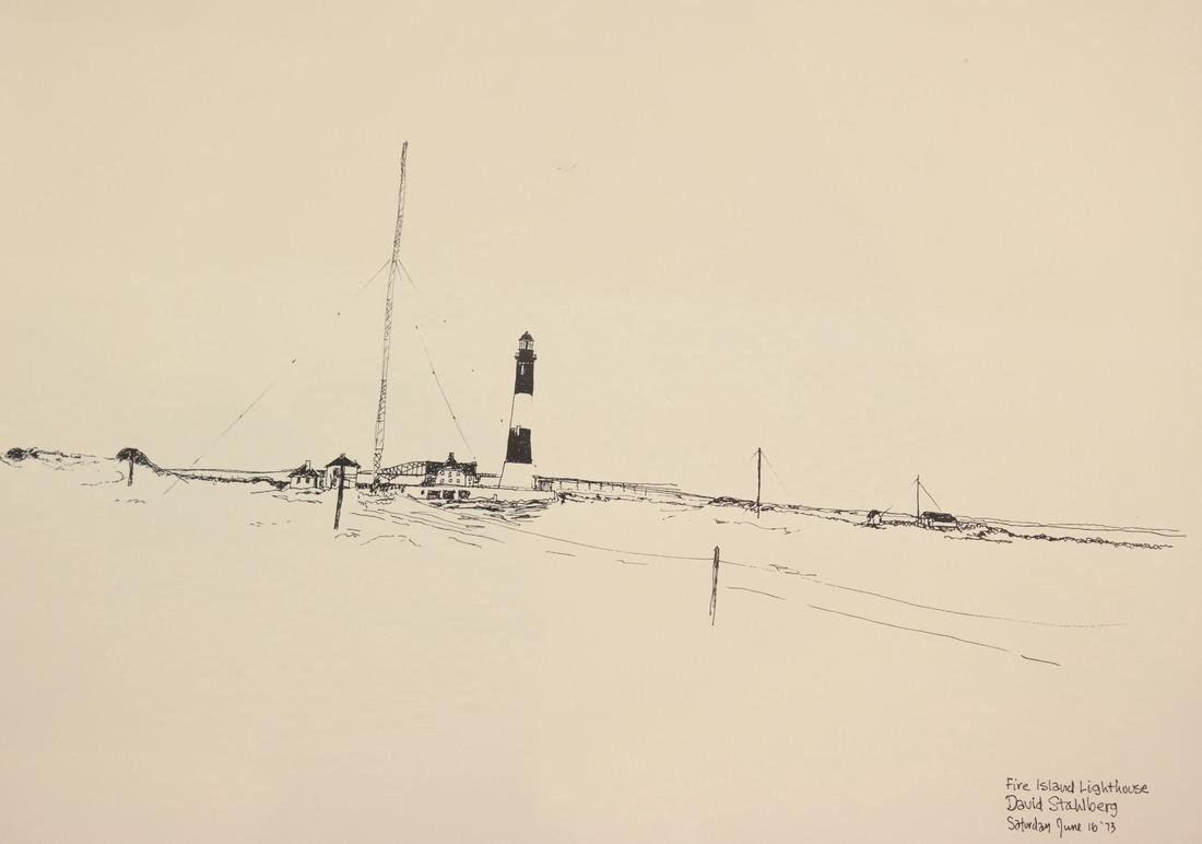 David Stahlberg, Four  Fire Island Scenes - 10