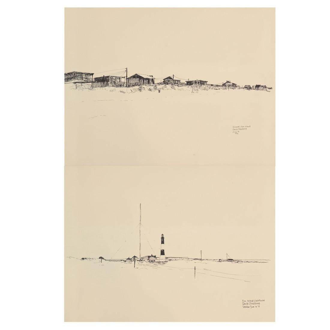 David Stahlberg, Four  Fire Island Scenes
