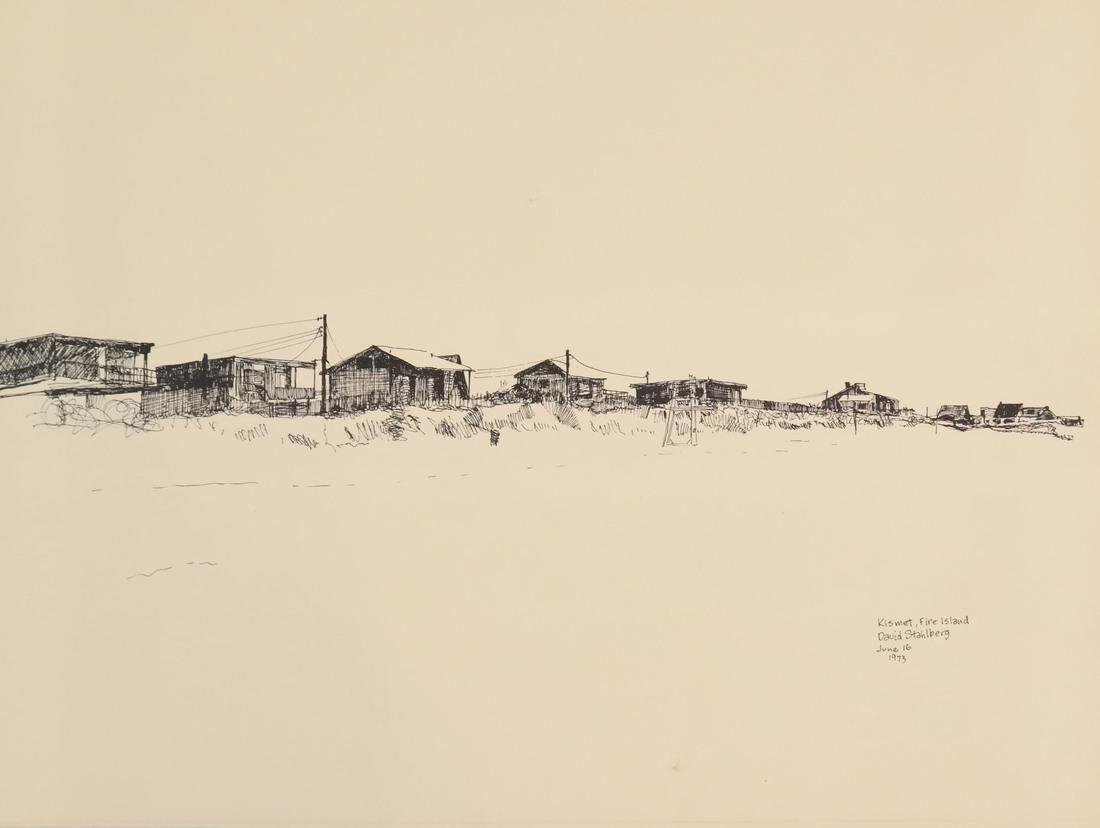 David Stahlberg, Four  Fire Island Scenes - 2