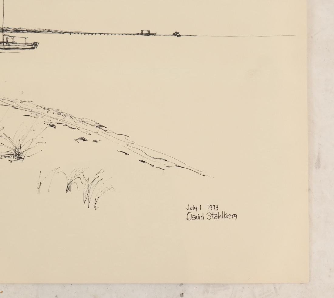 David Stahlberg, Four  Fire Island Scenes - 6
