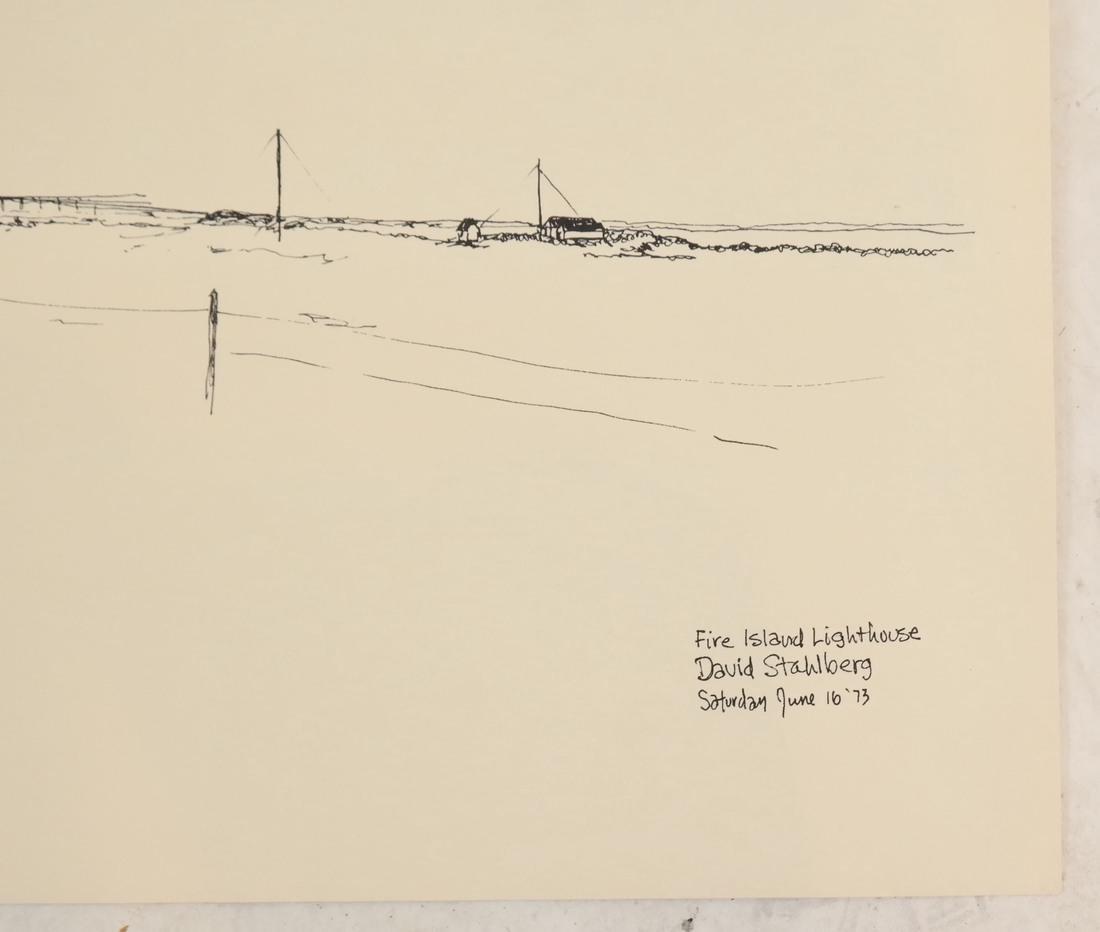 David Stahlberg, Four  Fire Island Scenes - 9