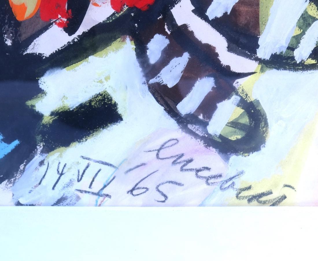 Lucebert, Abstract, Mixed Media on Paper - 4