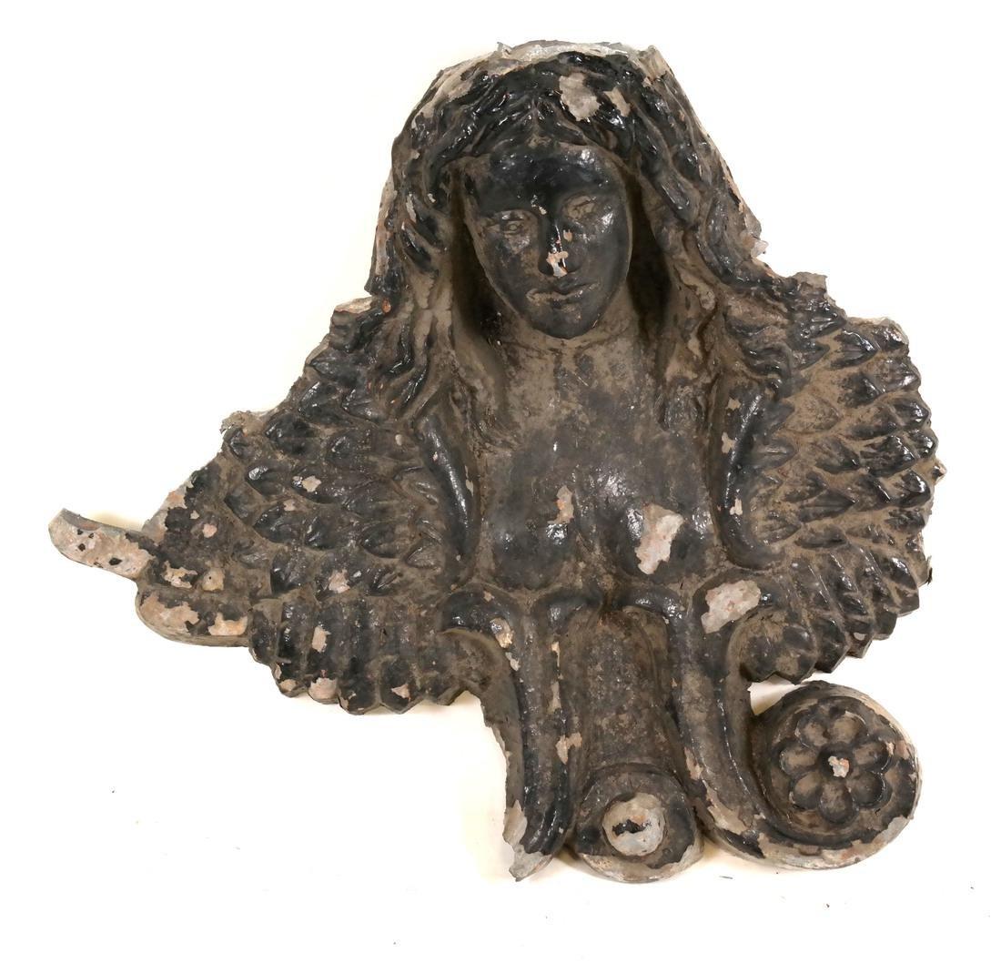 Metal Figural Relief