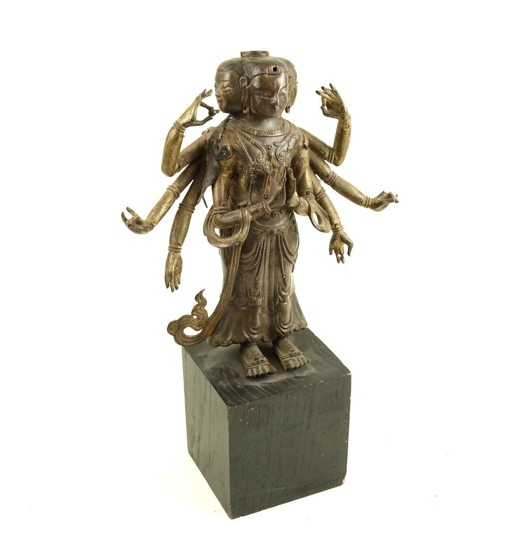 Southeast Asian Deity Figure