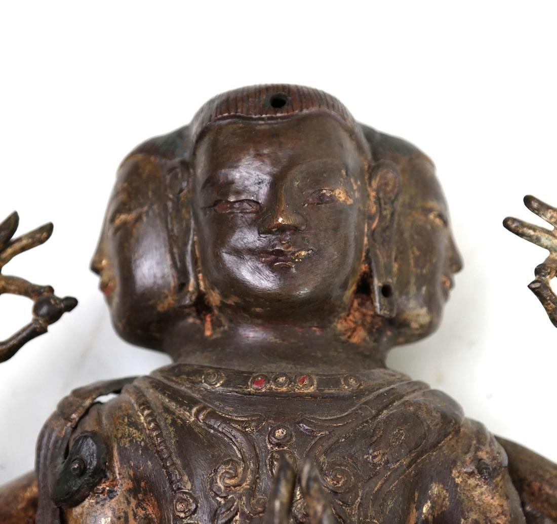 Southeast Asian Deity Figure - 9
