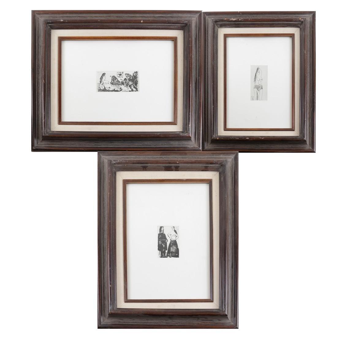 Picasso, Three Nude Prints