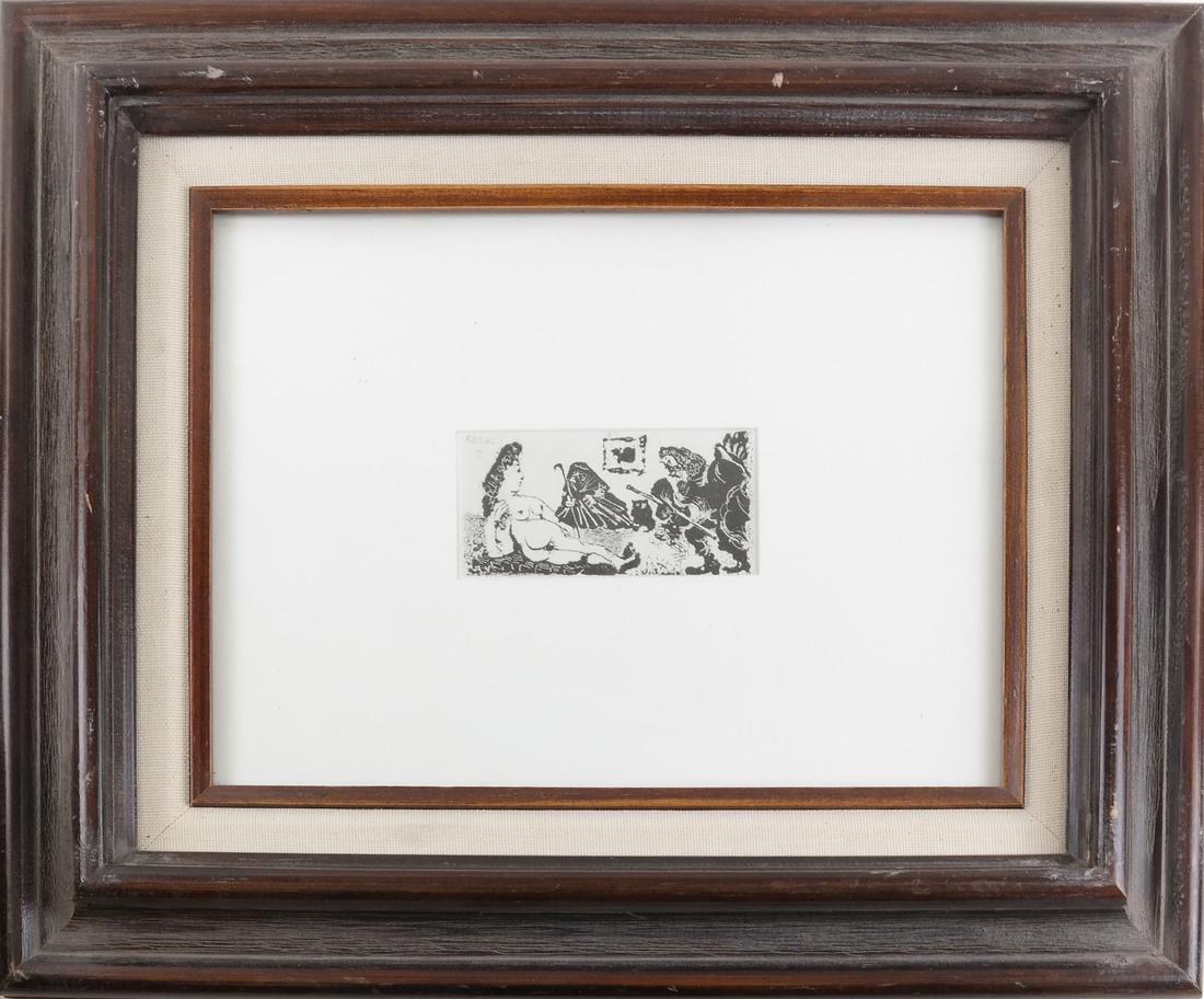 Picasso, Three Nude Prints - 2
