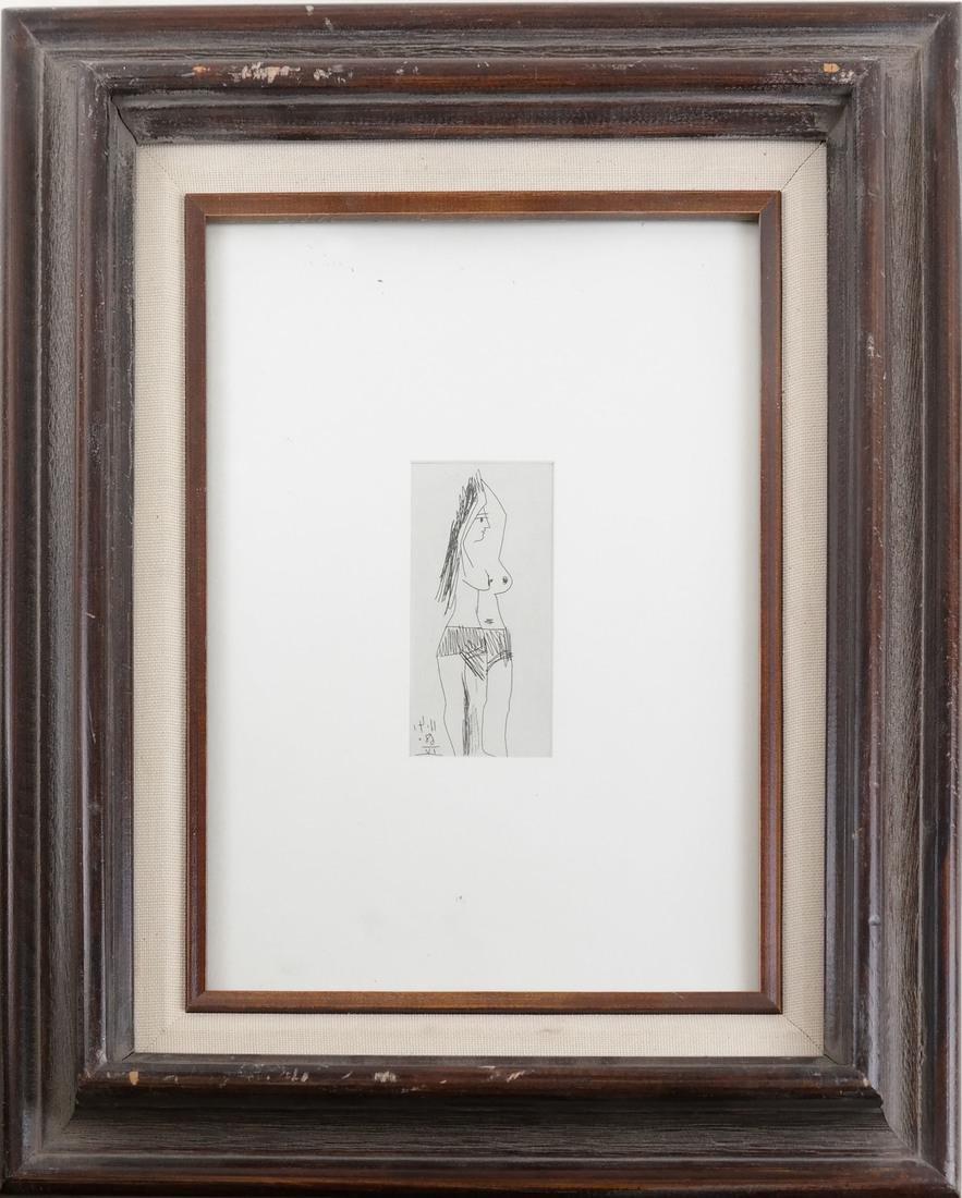 Picasso, Three Nude Prints - 4