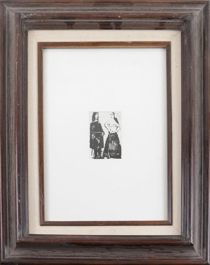 Picasso, Three Nude Prints - 7