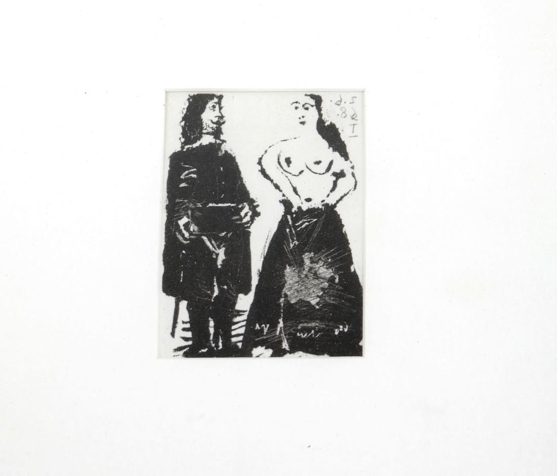 Picasso, Three Nude Prints - 8