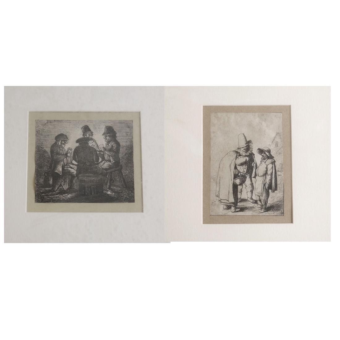 Ten Various Framed Prints - 2