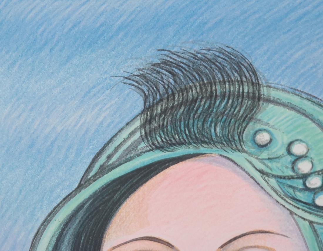 Surrealist-Style Portrait, Print - 3