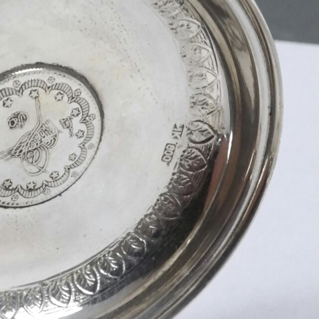 Group of 21 .800 Standard Silver Plates - 3