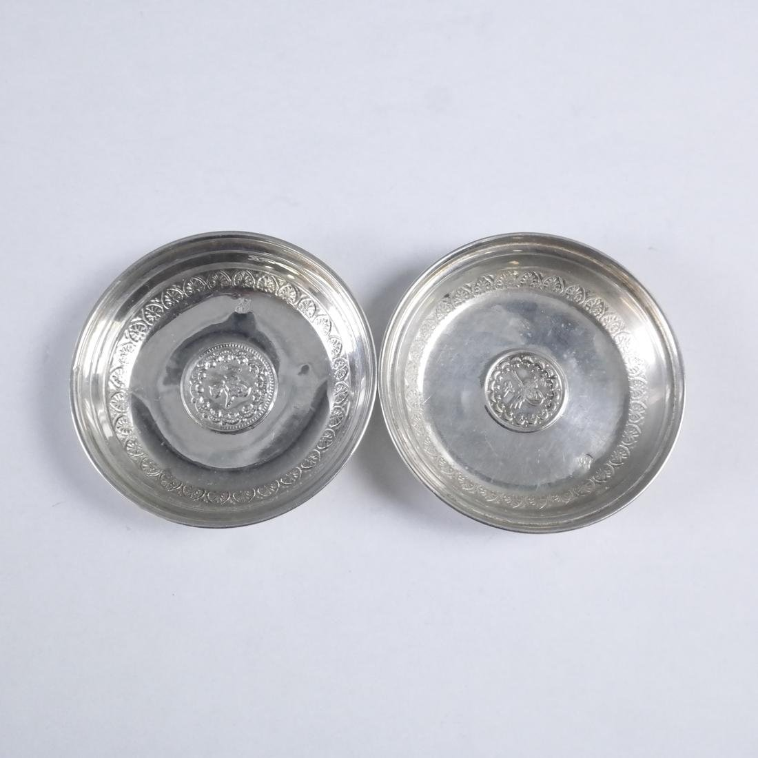 Group of 21 .800 Standard Silver Plates - 5