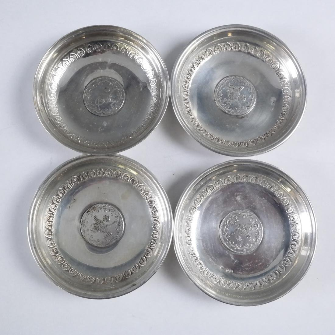 Group of 21 .800 Standard Silver Plates - 6