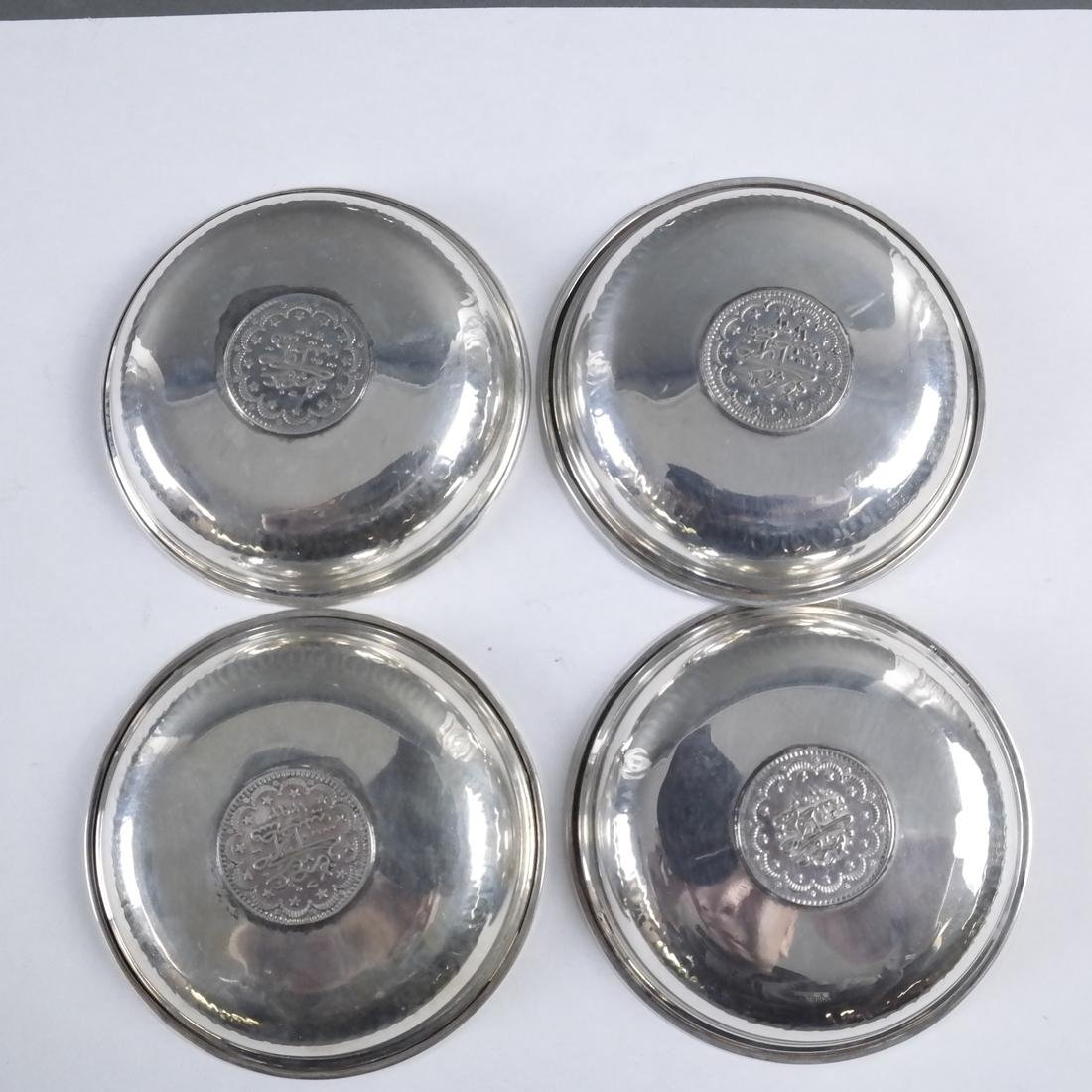 Group of 21 .800 Standard Silver Plates - 7