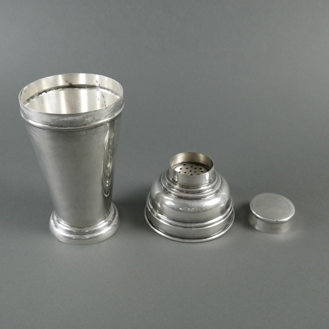 .900 Standard Silver Cocktail Shaker - 2