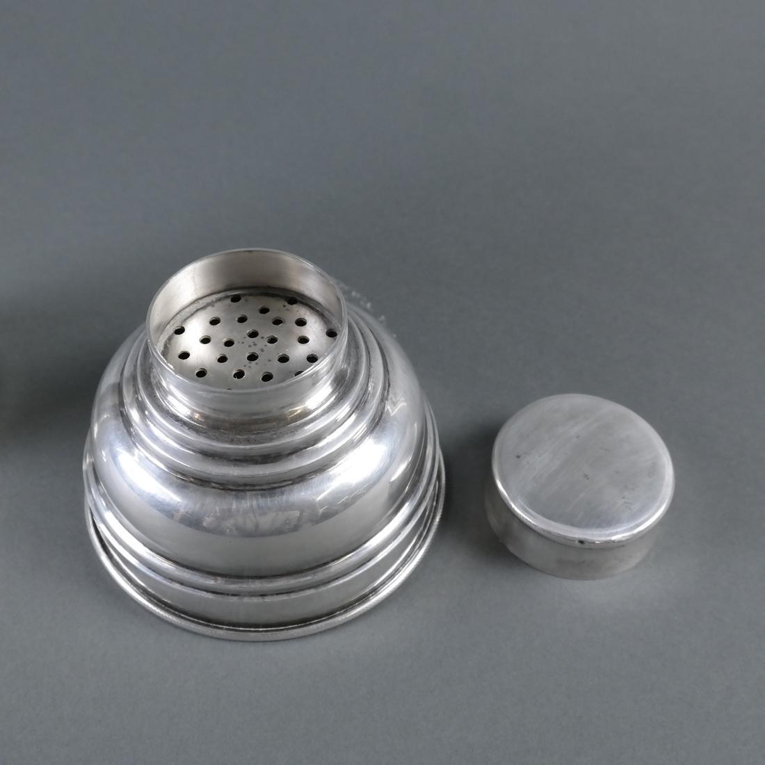 .900 Standard Silver Cocktail Shaker - 3