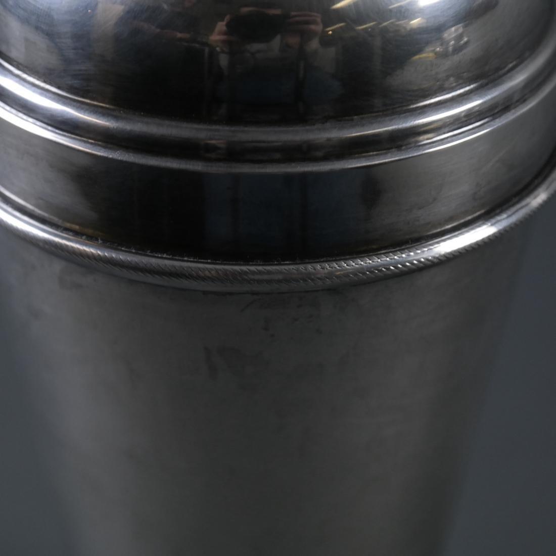 .900 Standard Silver Cocktail Shaker - 6