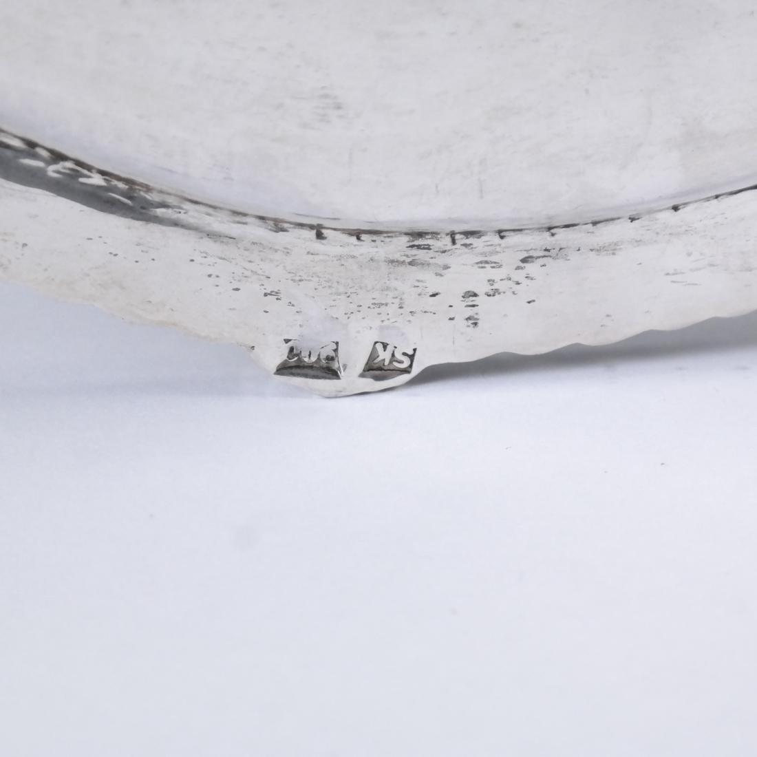 4 .900 Standard Silver Graduated Platters - 3