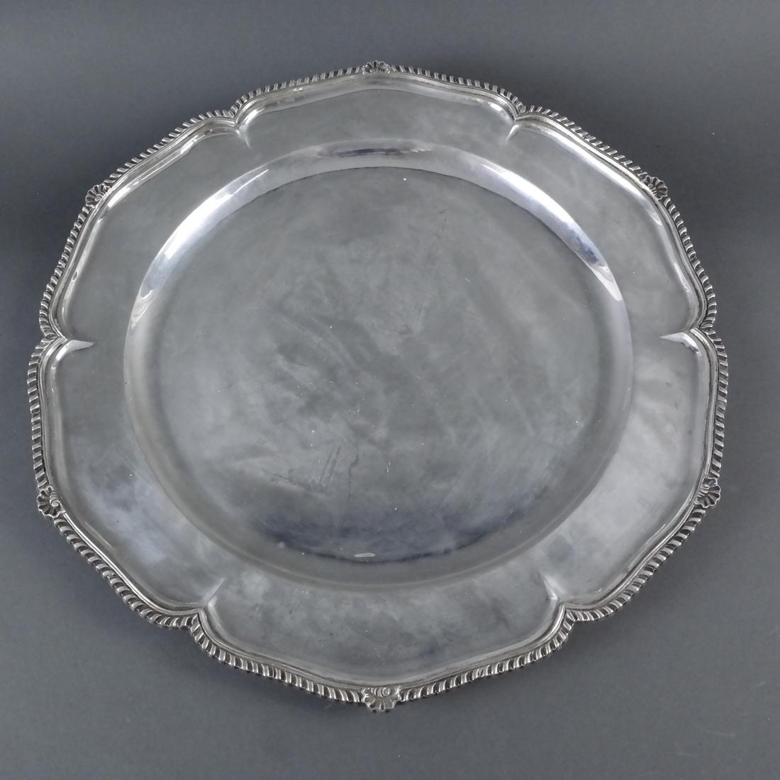 4 .900 Standard Silver Graduated Platters - 4