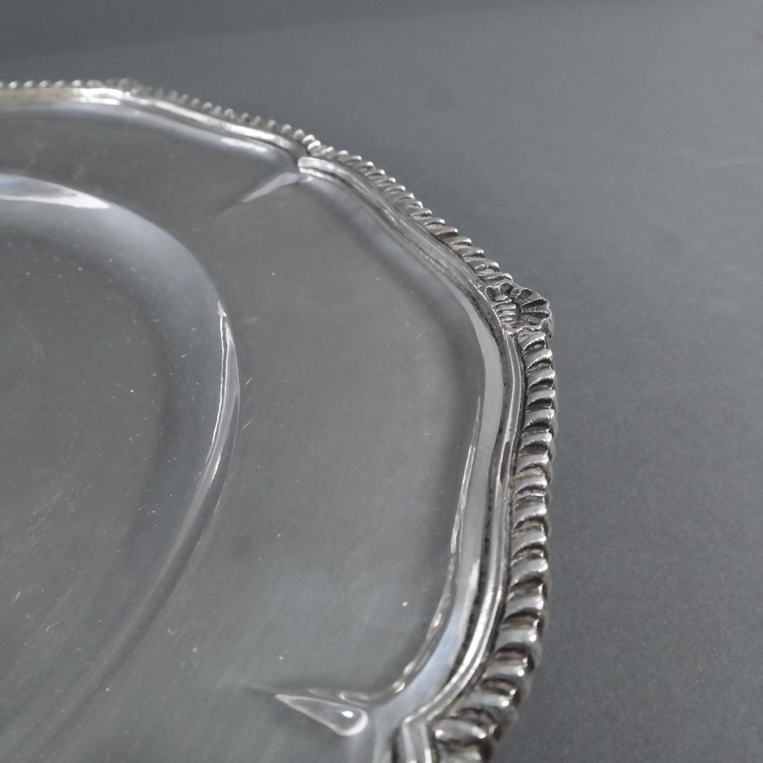 4 .900 Standard Silver Graduated Platters - 8