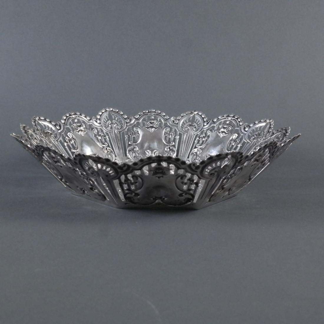 .900 Standard Silver Ornate Centerpiece - 3