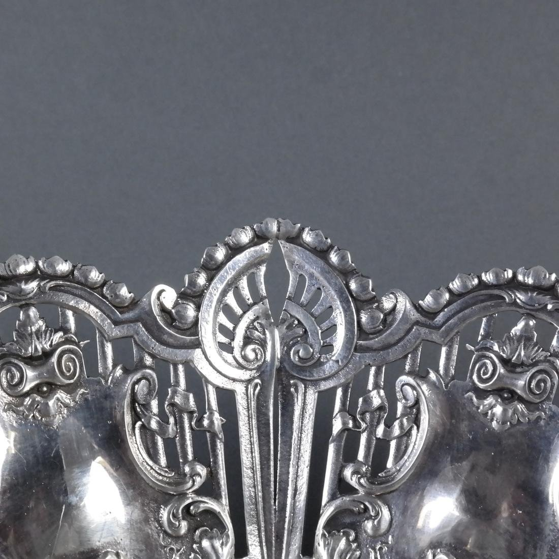 .900 Standard Silver Ornate Centerpiece - 5
