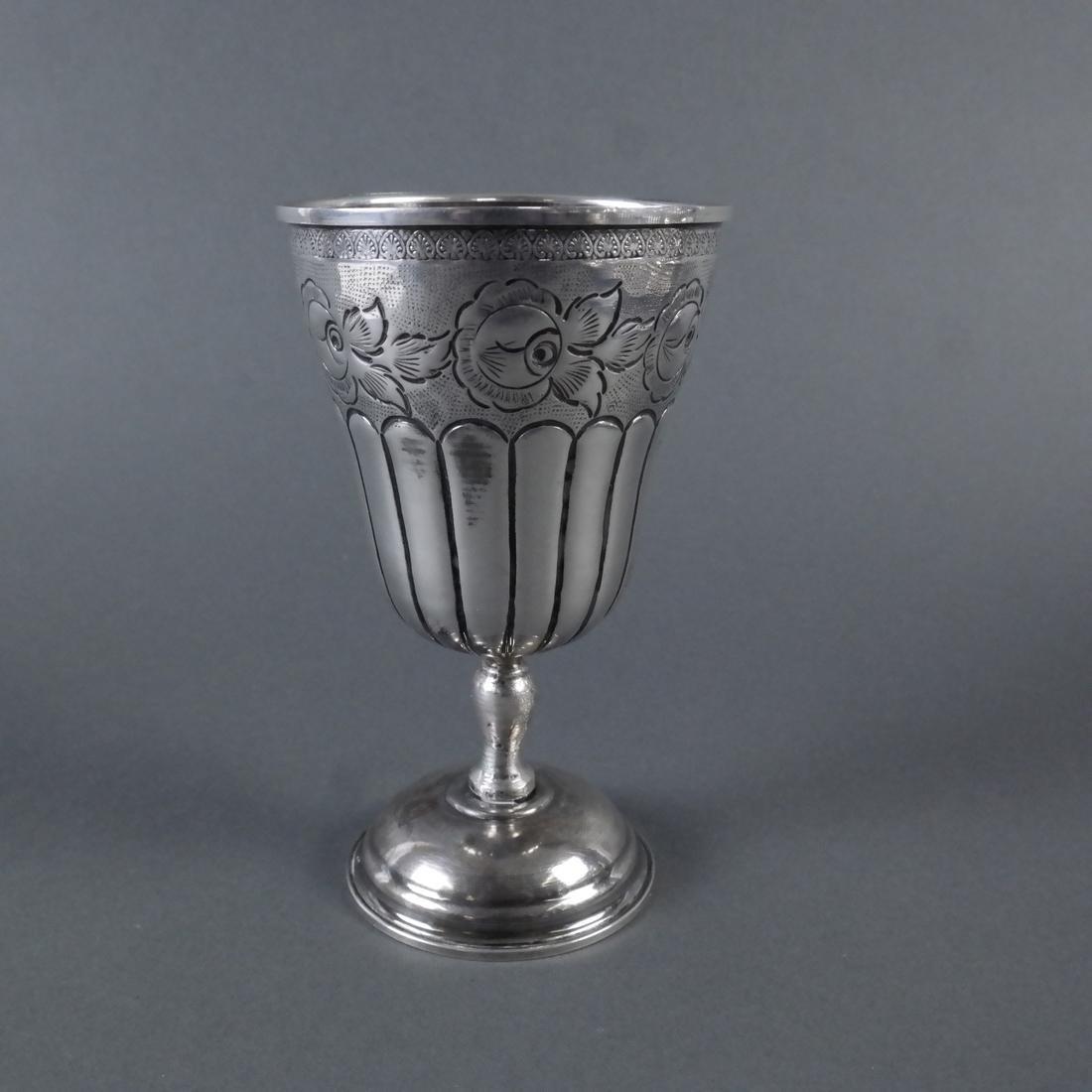 .800 Standard Silver Kiddush Cup