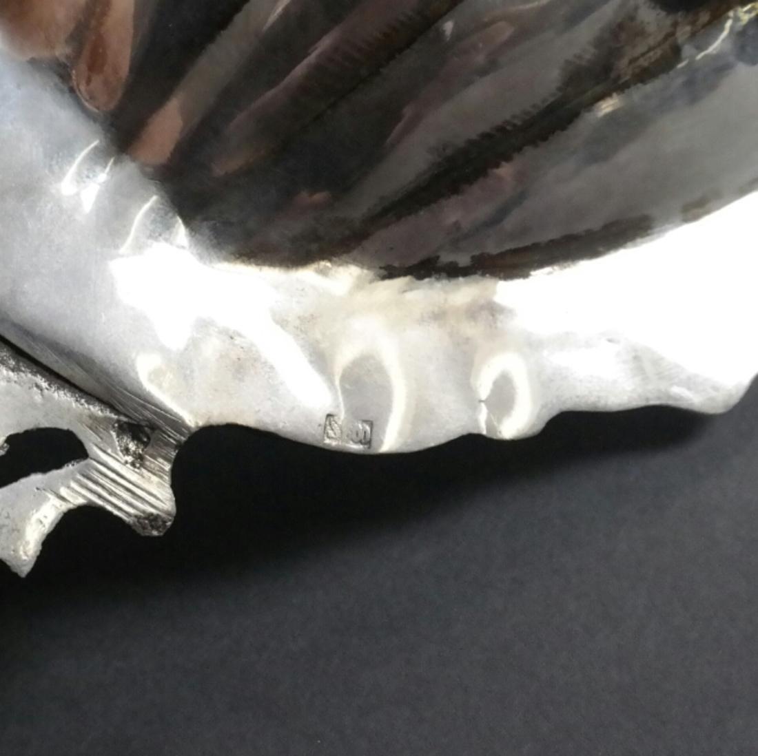 .800 Standard Silver Ornate Fruit Dish - 2