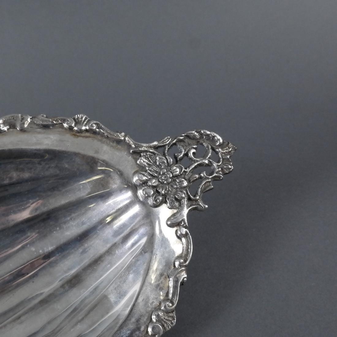 .800 Standard Silver Ornate Fruit Dish - 4