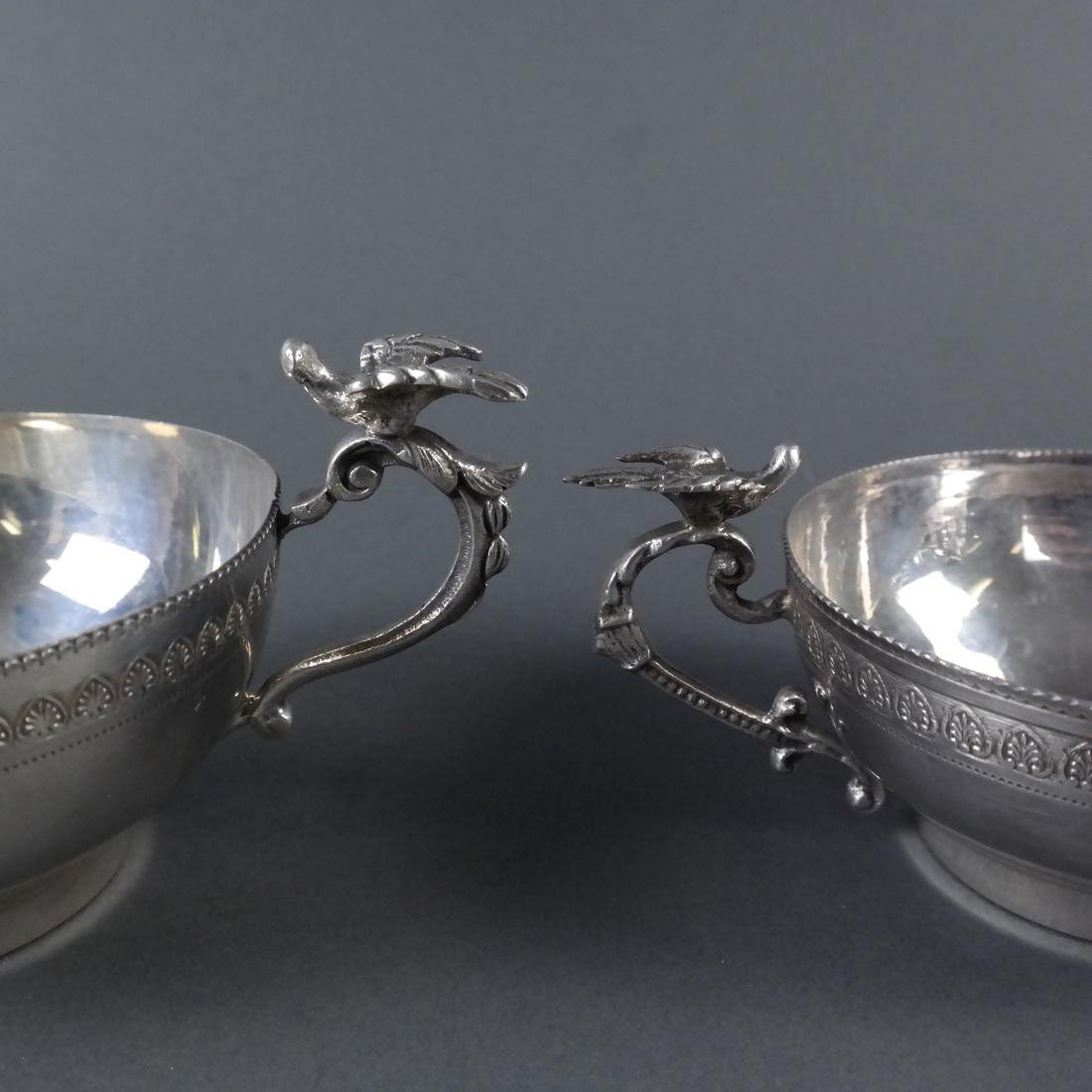Two .900 Standard Silver Cups - 5