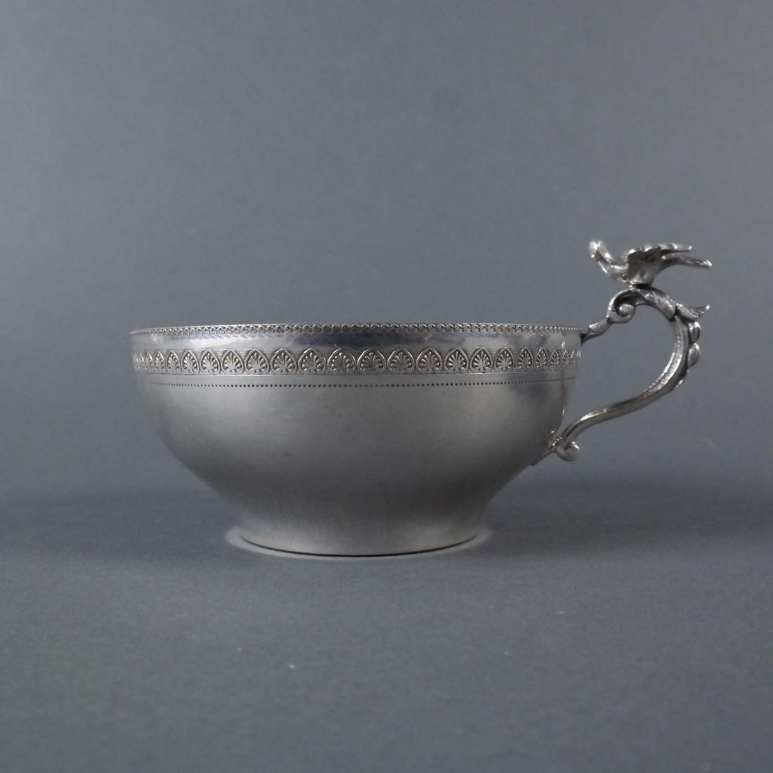 Two .900 Standard Silver Cups - 6