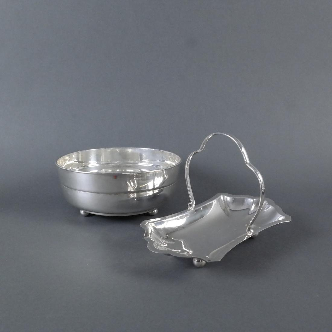 Two .900 ARIS Silver Table Articles