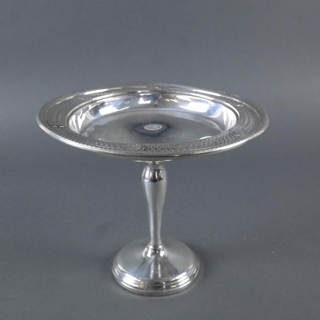 Weighted Sterling Silver Compote
